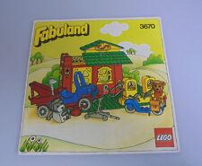 LEGO® Fabuland - Bauanleitung - Für Set 3670 Autowerkstatt Anleitung BA 1984