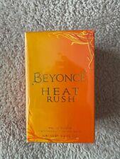 Beyonce Heat Rush Eau de Toilette 100ml Spray For Her NEW. Damaged Box