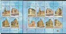 Azerbaijan Aserbaidschan MNH** 2019 Mi.1441-44 Bl.221 Architecture JI Polen Both