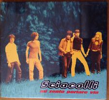 """Sciacalli – Mi Sento Portare Via CD/EP Digipack Oasis """"Slide Away"""" Cover EX/EX"""