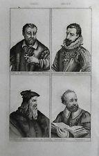 ITALIA: C. DE MEDICI-A.FARNESE-L.DA VINCI-PALLADIO= LEMAITRE.ITALIA.Artaud.1835