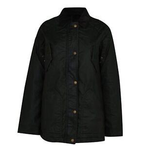 Jack Wills Waxed Jacket Ladies Unquilted Coat Top