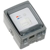 Timeguard WIFI Controlled IP66 Outdoor Fused Spur Connection Unit Timer