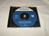 Wordperfect Productivity Pack (PC, 2004) Near Mint Replacement disk