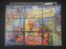 2013 Wacky Packages 6th Series 6 Complete Set Puzzle Checklist No Sketch 69/150