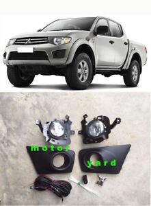 Driving / Spot / Fog Lights Lamps Kit for Mitsubishi Triton MN 2009 to 2015