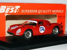 Best 9119 Ferrari 250 LM 1966 Targa Florio #174 1/43