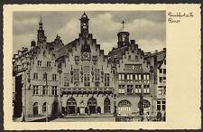 Germany. Frankfurt am Main. Römer - Vintage Postcard