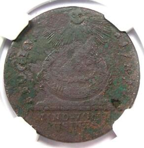 1787 Fugio Cent 1C Colonial Copper Coin - Certified NGC Fine Details - Rare!
