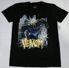 Venom Marvel Comics Mens T-Shirt Venom Skyline Promo Medium Universal Studios