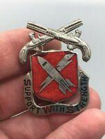 US Army 9th Maintenance Battalion DUI NH/G CB DI Pin Badge Unit Crest B232
