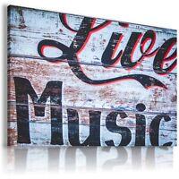 MODERN DESIGN CANVAS LIVE MUSIC WALL ART PICTURE LARGE AB722 MATAGA .
