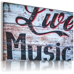 MODERN DESIGN CANVAS LIVE MUSIC WALL ART PICTURE LARGE AB722 MATAGA .