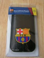FC Barcelona Phone Pouch Small Black Smart Case Football Team Supporter