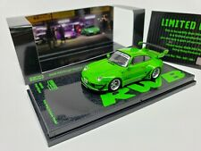 1:64 Tarmac Works Porsche RWB 993 Rough Rhythm Green Hong Kong Minicar Festival
