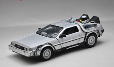 Welly 1:24 Delorean Time Machine Back to the Future Part 1 Diecast Model Car NIB