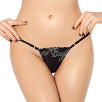 Women's Lingerie Sexy Bikinis Thongs G String Underwear Knickers Briefs Panties