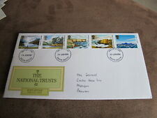 GB Stamps / Royal Mail First day cover - National Trust