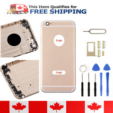 iPhone 6 Gold Frame Back Housing Replacement Battery Cover