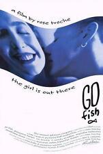 "GO FISH - 27""x40"" Original Movie Poster One Sheet 1994 Rose Troche Rare"