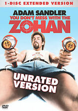 You Dont Mess With The Zohan (DVD, 2008, Unrated Single Disc Version)