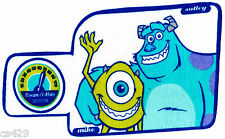 New listing Disney monsters inc fabric applique iron on sulley mike not embroidered 10 inch