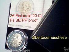 2 euro 2012 Fs proof BE PP FINLANDIA Finlande Suomi Finland 150 anni Schjerfbeck