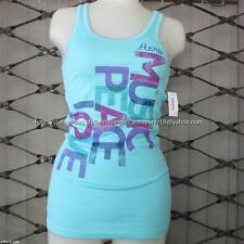 75% OFF! AUTH AEROPOSTALE WOMEN'S MUSIC PEACE LOVE BOYTANK XSMALL BNEW US$ 22.5+