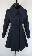 AQUASCUTUM Trench Rain Coat CASCADE MOUNTAIN WRAP COLLAR sz 12 rrp £800