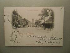 Ansichtskarte Pilsen  Ferdinand Strasse Straßenzug 1897
