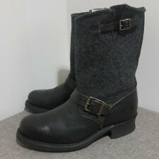Frye Engineer 12R Wool & Leather Boots - Size 9