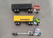 3 x Matchbox Convoy Kenworth Trucks Cabs Trailers inc NASA Eurobran - SEEE!!!