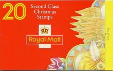 GB Barcode Stamp Booklet LX7 CHRISTMAS 1994 NATIVITY CYLINDER CYL B1A-B1F