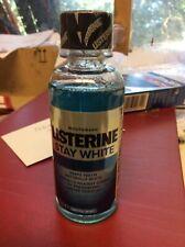 Listerine Stay White Mini Mouthwash 95ml TRAVEL SIZE