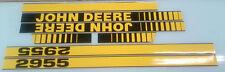 John Deere 2955 Hood Decals