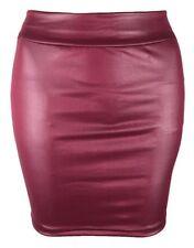 a25bb98f2b81e Röcke in Material:Kunstleder, Farbe:Rot | eBay