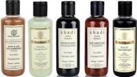 HERBAL SHAMPOO CLEANSER CHOOSE FROM 5 KHADI SLS & PARABEN FREE NATURAL 210 ML