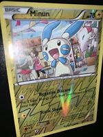 Pokemon MINUN 32/111 - XY Furious Fists Rev Holo