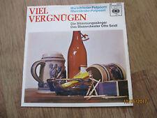 Vinyl7Orchester Otto Seidl Viel Vergnügen Marschlieder Potpourri Rare German Gut