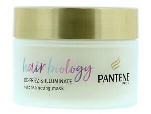 Pantene Pro-V Hair Biology De-Frizz & Illuminate Reconstructing Mask - 160ml