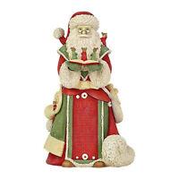 Enesco Heart of Christmas Santa with Mice Caroling $50=FreeShipUS