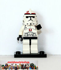 Lego® Star Wars Minifigur, Figuren sw130, Clone Trooper Commander Neyo, 7250