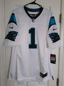 LARGE NIKE Cam Newton Mens White Carolina Panthers Limited Jersey L SEWN $150