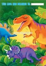 Dinosaurs Plastic Party Bags