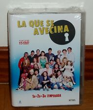 THE THAT IS AVECINA-1º, 2º Y 3º SEASONS FULL-PACK 15 DVD-SEALED-NEW