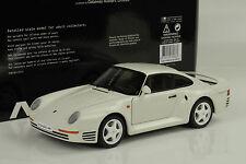 1986 PORSCHE 911 959 BIANCO WHITE 1:18 Autoart 78083