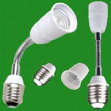 200mm Screw ES E27 Flexible Lamp Holder Multi-Orientational Light Bulb Extension