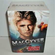 MacGyver The Complete Collection All 139 Episodes & the Tv Movies Brand New Dvd