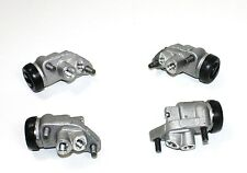 SET OF 4 FRONT BRAKE WHEEL CYLINDERS MORGAN PLUS 4 1950 - 1957