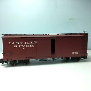 Bachmann G Scale  Linville River Boxcar Train Car